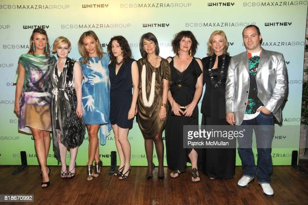 Allison Aston Sarah Brown Lubov Azria Liz Magic Laser Brooke Neidich Ellen Harvey Joanne Leonhardt Cassullo and Ryan Humphrey attend 2010 WHITNEY ART...