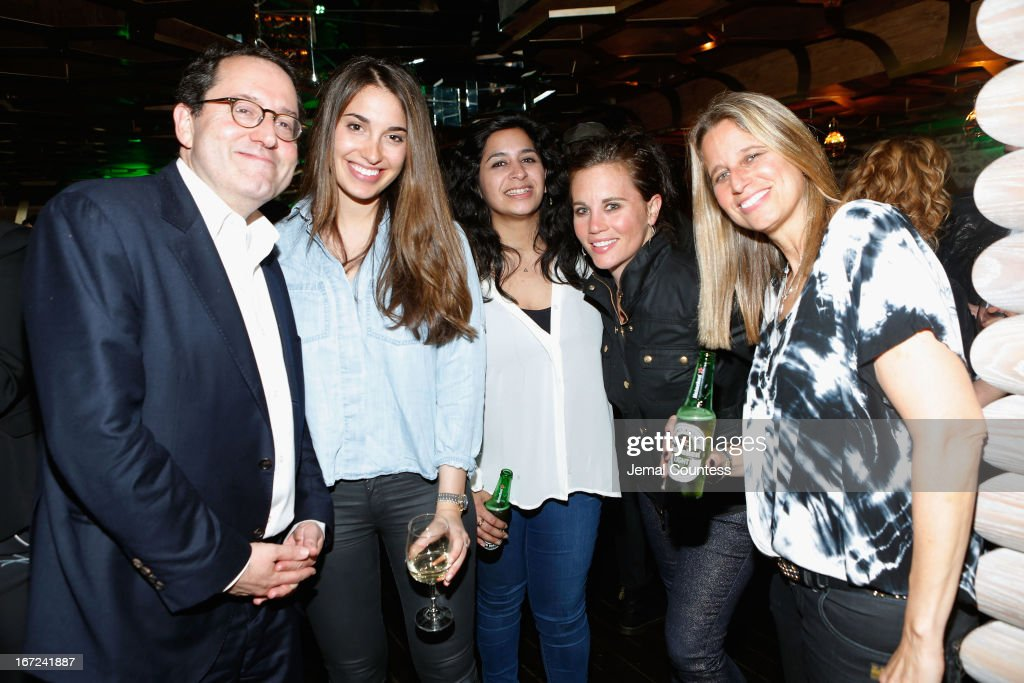Allison Barber, Maya Anand and guests attend the Tribeca Film Festival 2013 After Party 'Before Midnight' sponsored by Heineken on April 22, 2013 in New York City.