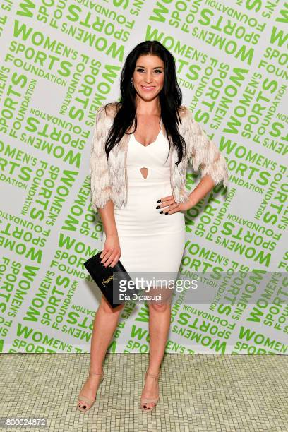 Allison Baver attends the Women's Sports Foundation 45th Anniversary of Title IX celebration at the NewYork Historical Society on June 22 2017 in New...