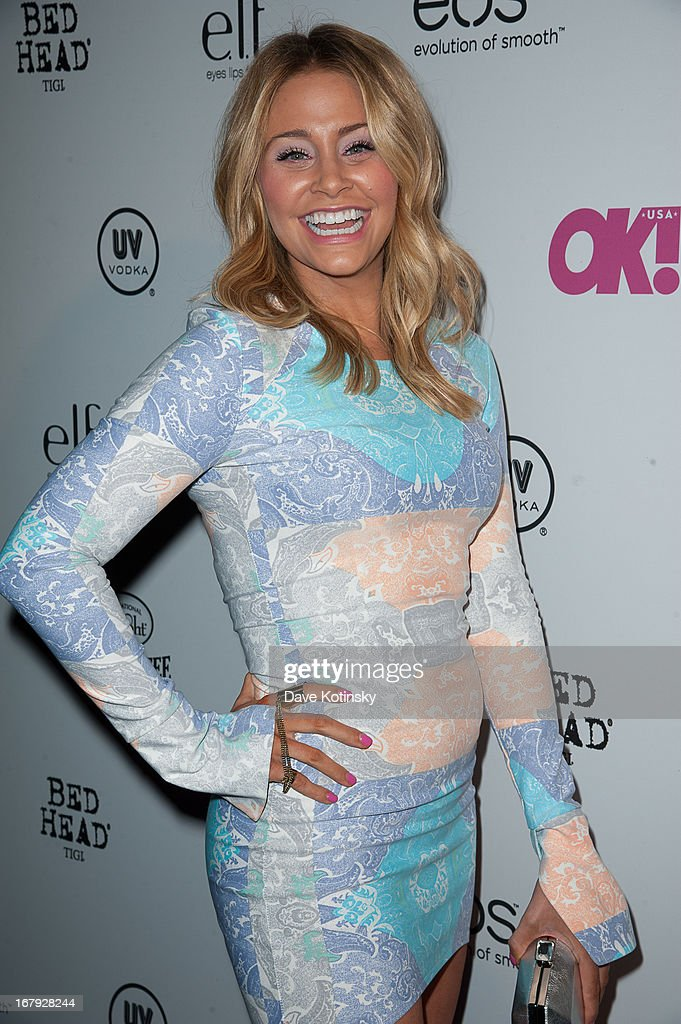 Allison Carter Thomas attends OK! Magazine 'So Sexy' Party at Marquee on May 1, 2013 in New York City.