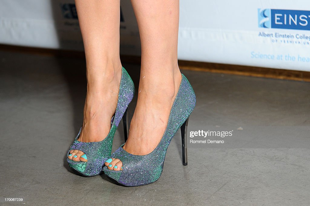 Allison Carter Thomas (shoe detail) attends the Einstein Emerging Leaders 2nd Annual Gala at Dream Downtown on June 6, 2013 in New York City.