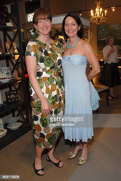 Allison Crowell and Susy Krieser attend Cocktails at Hollyhock Honoring Mish NY and the Breast Center at UCLA at West Hollywood on May 7 2007 in West...