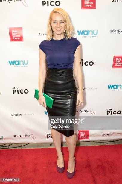 Allison Geddie attends With Love From Florida A Night Of One Act Plays Benefiting Hurricane Relief Efforts Through Team Rubicon at The Pico Playhouse...