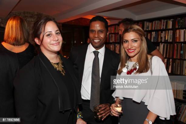 Allison Gorsuch Aleim Johnson and Mona Assemi attend Stylecom 10th Anniversary Celebration at Private Residence on September 14 2010 in New York