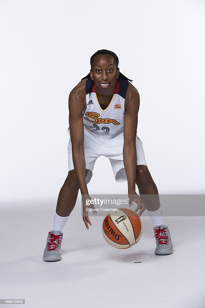 Allison Hightower #23 of the Connecticut Sun poses for a portrait during the 2012-13 WNBA Media Day on May 8, 2013 at Mohegan Sun in Uncasville, Connecticut.