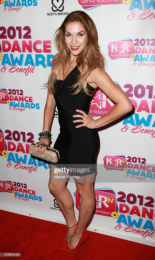 Allison Holker attends the Kids Artistic Revue 'KAR ' TV Dance Awards at MGM Grand on July 6, 2012 in Las Vegas, Nevada.