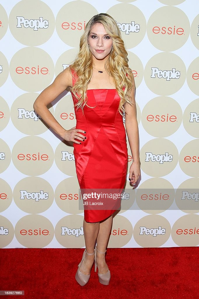 Allison Holker attends the People's One To Watch Event held at Hinoki & The Bird on October 9, 2013 in Los Angeles, California.