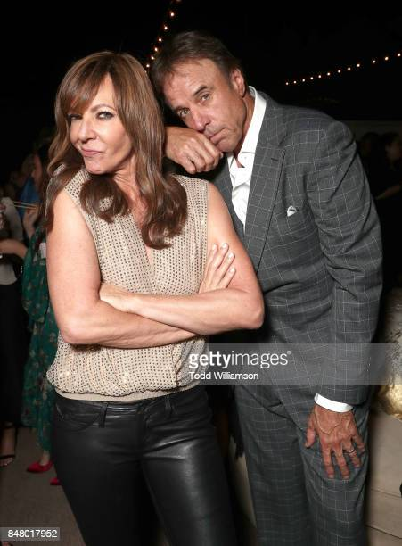 Allison Janney and Kevin Nealon attend the 2017 Gersh Emmy Party presented by Tequila Don Julio 1942 on on September 15 2017 in Los Angeles California