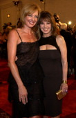Allison Janney and Marlo Thomas during St Jude Runway For Life Red Carpet at Beverly Hilton Hotel in Beverly Hills California United States