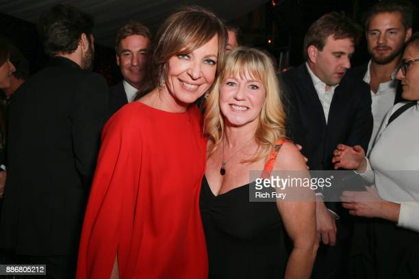 Allison Janney and Tonya Harding attend the after party for the premiere of Neon and 30 WestÕs 'I Tonya' on December 5 2017 in Hollywood California