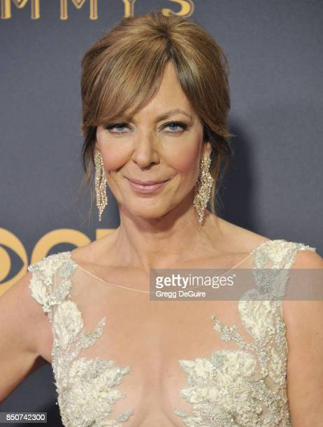 Allison Janney arrives at the 69th Annual Primetime Emmy Awards at Microsoft Theater on September 17 2017 in Los Angeles California