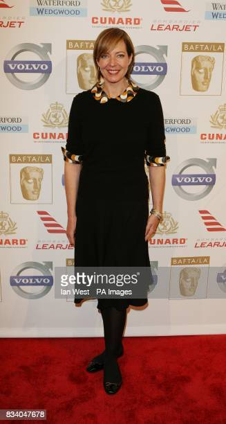 Allison Janney arrives at the Bafta Tea Party held at the Beverly Hills Hotel Los Angeles