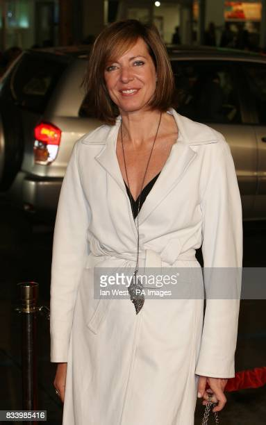 Allison Janney arrives at the premiere of PS I Love You at the Grauman's Chinese Theatre in Hollywood Los Angeles