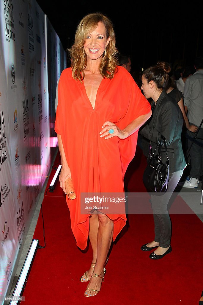 Allison Janney arrives to the Closing Night Gala for the Baja International Film Festival at the Los Cabos Convention Center on November 17, 2012 in Cabo San Lucas, Mexico.
