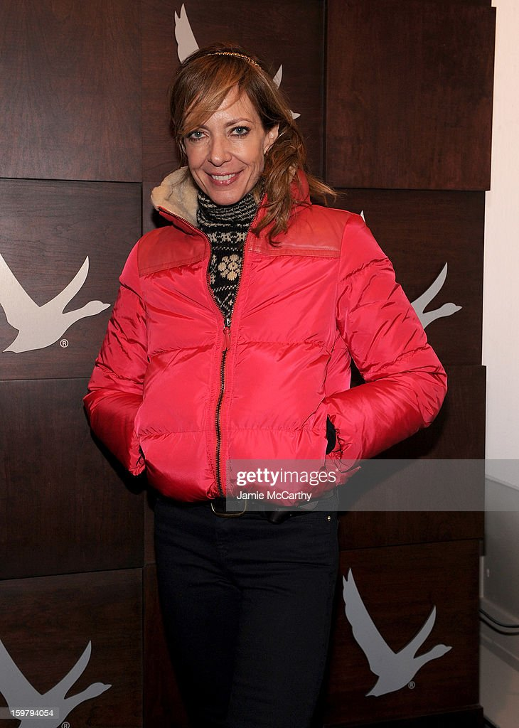 <a gi-track='captionPersonalityLinkClicked' href=/galleries/search?phrase=Allison+Janney&family=editorial&specificpeople=206290 ng-click='$event.stopPropagation()'>Allison Janney</a> at the Grey Goose Blue Door on January 20, 2013 in Park City, Utah.