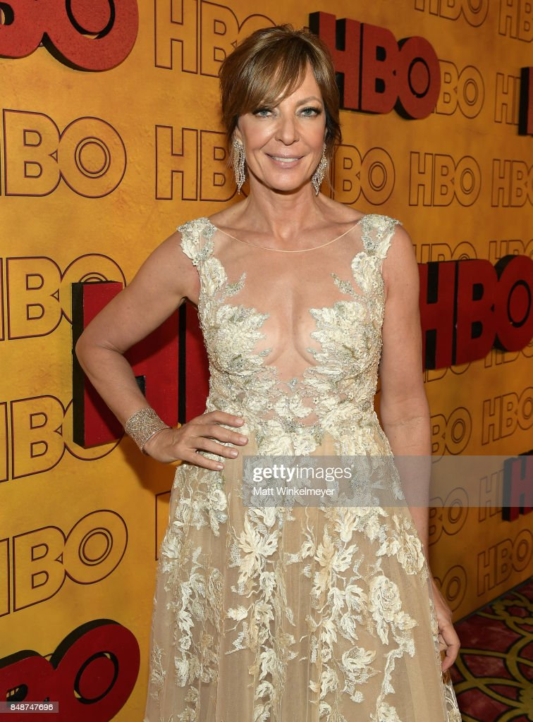 Allison Janney attends HBO's Post Emmy Awards Reception at The Plaza at the Pacific Design Center on September 17, 2017 in Los Angeles, California.
