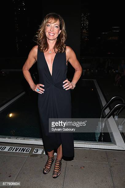 Allison Janney attends Netflix Hosts the After Party for 'Tallulah' at The Jimmy at the James Hotel on July 19 2016 in New York City
