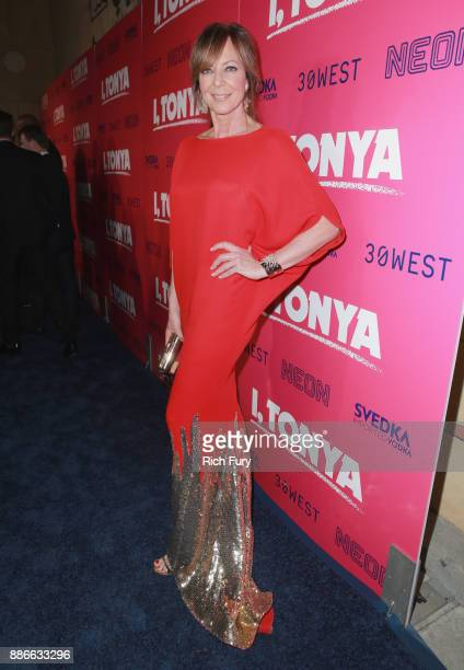 Allison Janney attends Premiere Of Neon And 30 West's I Tonya' at the Egyptian Theatre on December 5 2017 in Hollywood California