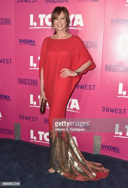Allison Janney attends Premiere Of Neon's 'I Tonya' at the Egyptian Theatre on December 5 2017 in Hollywood California