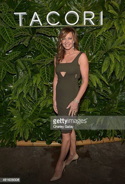 Allison Janney attends Tacori Presents Riviera At The Roosevelt at Tropicana Bar at The Hollywood Roosevelt Hotel on October 6 2015 in Hollywood...