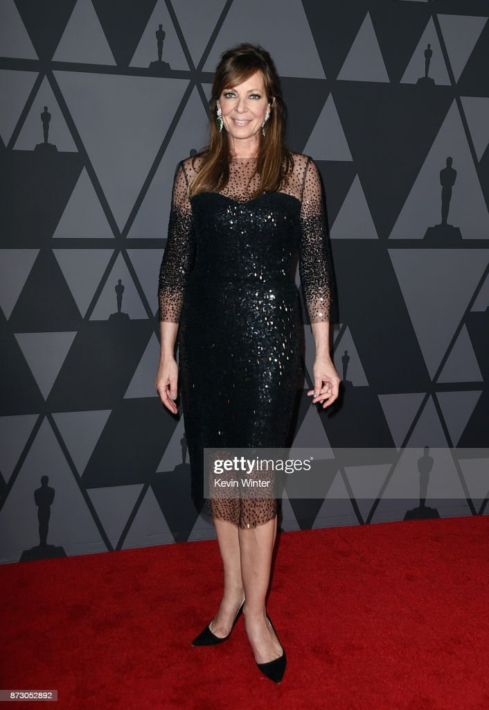 Allison Janney attends the Academy of Motion Picture Arts and Sciences' 9th Annual Governors Awards at The Ray Dolby Ballroom at Hollywood & Highland Center on November 11, 2017 in Hollywood, California.