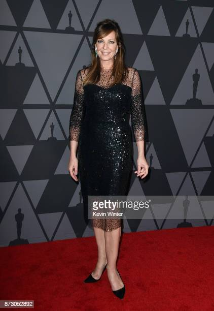 Allison Janney attends the Academy of Motion Picture Arts and Sciences' 9th Annual Governors Awards at The Ray Dolby Ballroom at Hollywood Highland...