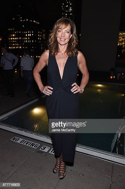 Allison Janney attends the after party for a special screening of 'Tallulah' hosted by Netflix at The Jimmy at the James Hotel on July 19 2016 in New...