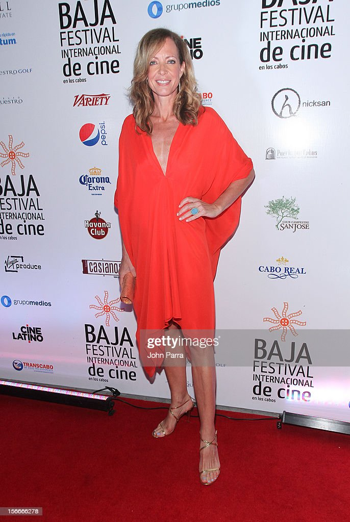 Allison Janney attends the Closing Night Gala during the Baja International Film Festival at Los Cabos Convention Center on November 17, 2012 in Cabo San Lucas, Mexico.