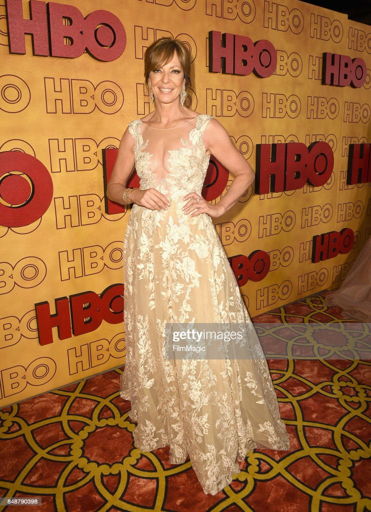 Allison Janney attends the HBO's Official 2017 Emmy After Party at The Plaza at the Pacific Design Center on September 17, 2017 in Los Angeles, California.