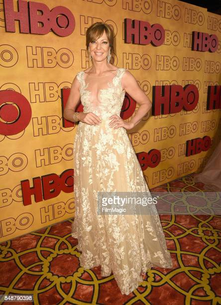 Allison Janney attends the HBO's Official 2017 Emmy After Party at The Plaza at the Pacific Design Center on September 17 2017 in Los Angeles...