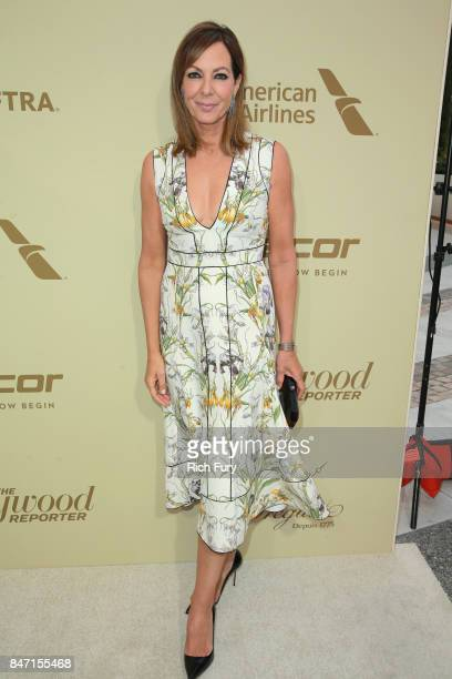 Allison Janney attends The Hollywood Reporter and SAGAFTRA Inaugural Emmy Nominees Night presented by American Airlines Breguet and Dacor at the...
