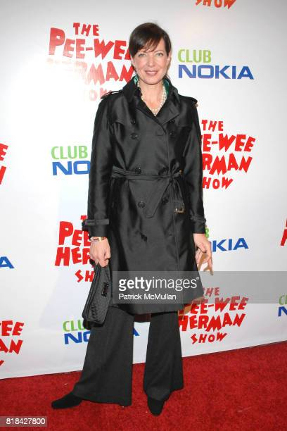 Allison Janney attends The Pee Wee Herman Show Opening Night at Club Nokia on January 20 2010 in Los Angeles California