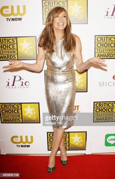 Allison Janney attends the press room at the 4th Annual Critics' Choice Television Awards held at The Beverly Hilton Hotel on June 19 2014 in Beverly...