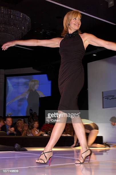 Allison Janney during St Jude Runway For Life at Beverly Hilton in Los Angeles California United States