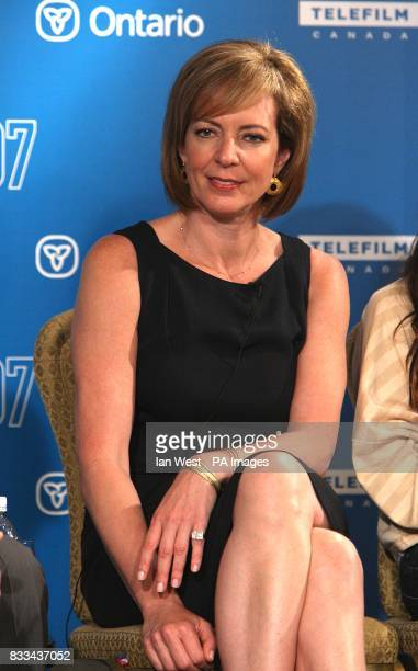 Allison Janney during the 32nd Annual Toronto International Film Festival 'Juno' Press Conference at Sutton Place Hotel