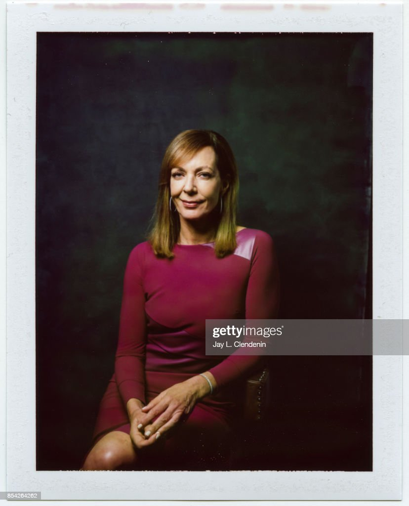 Allison Janney, from the film 'Kodachrome,' is photographed on polaroid film at the L.A. Times HQ at the 42nd Toronto International Film Festival, in Toronto, Ontario, Canada, on September 08, 2017.