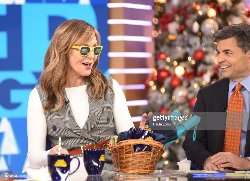AMERICA - Allison Janney is a guest on 'Good Morning America,' Monday, December 11, 2017, airing on the ABC Television Network. ALLISON