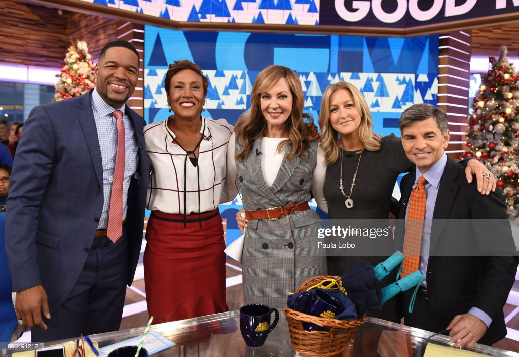 AMERICA - Allison Janney is a guest on 'Good Morning America,' Monday, December 11, 2017, airing on the ABC Television Network. MICHAEL