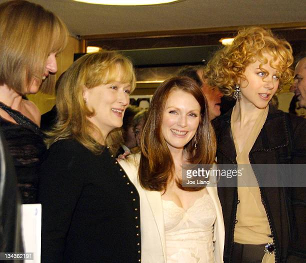 Allison Janney Meryl Streep Julianne Moore and Nicole Kidman