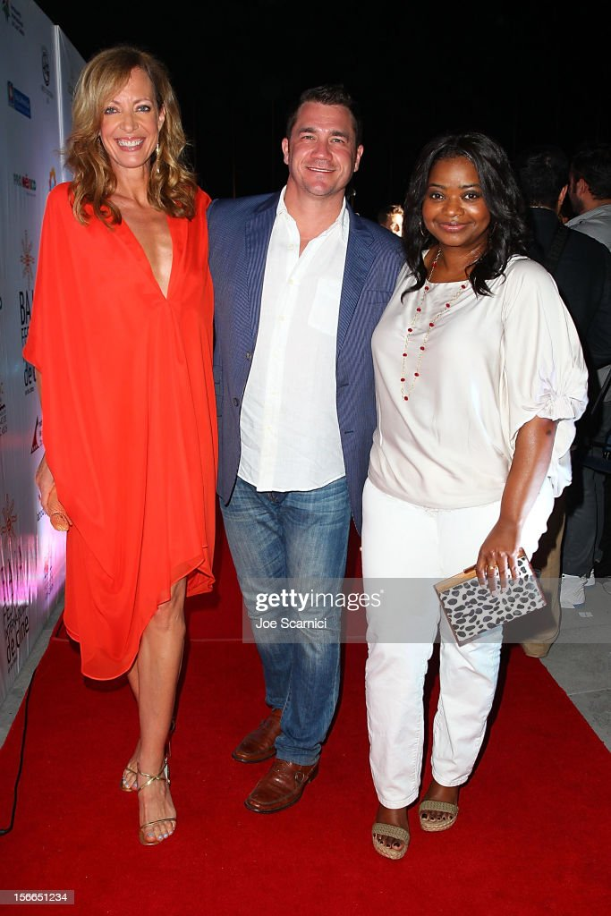 Allison Janney, Tate Taylor and Octavia Spencer arrive to the Closing Night Gala for the Baja International Film Festival at the Los Cabos Convention Center on November 17, 2012 in Cabo San Lucas, Mexico.