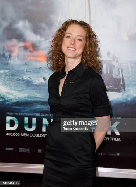 Allison Jaslow attends the red carpet premiere of 'Dunkirk' at the Smithsonian Museum on July 19 2017 in Washington DC