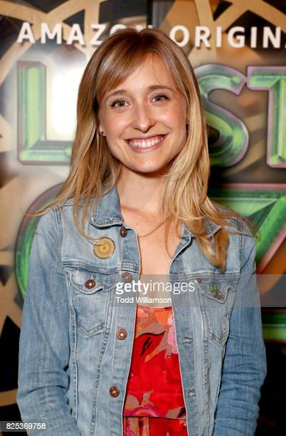 Allison Mack attends Amazon Studios' premiere for 'Lost In Oz' at NeueHouse Los Angeles on August 1 2017 in Hollywood California