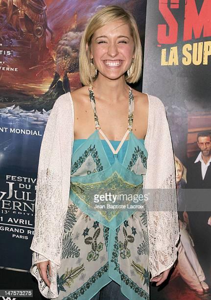 Allison Mack during 13th Jules Verne Film Festival 'Smallville' Season IV Premiere at Rex Theatre in Paris France