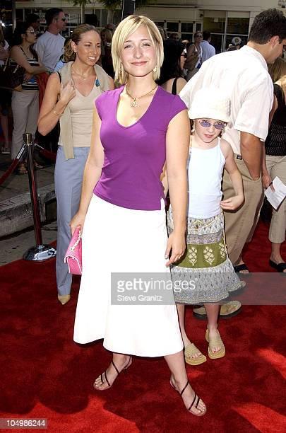 Allison Mack during 'Stuart Little 2' Premiere at Mann Village Theatre in Westwood California United States
