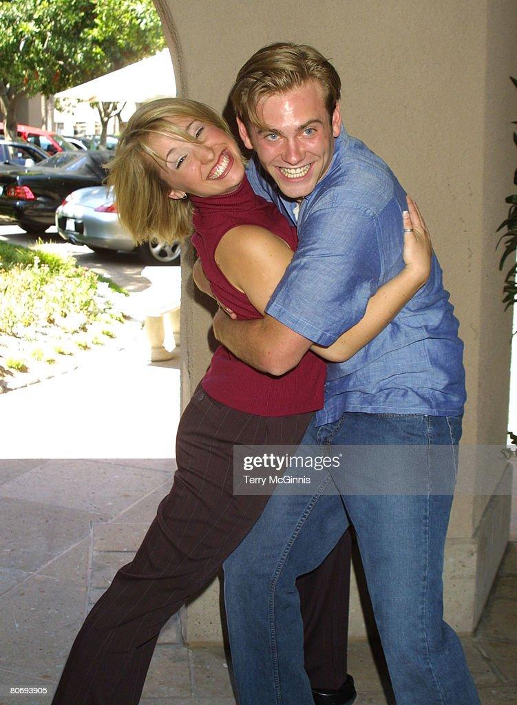 Allison Mack & Eric Johnson