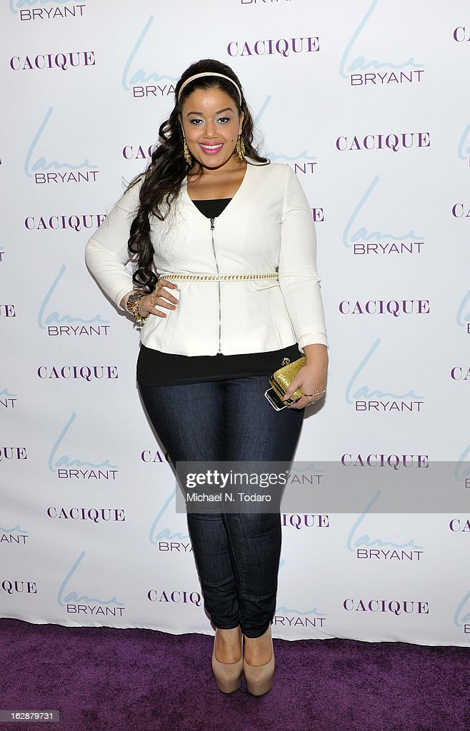 Allison Mcgevna attends the opening party for the Lane Bryant 34th Street Flagship Store on February 28, 2013 in New York City.