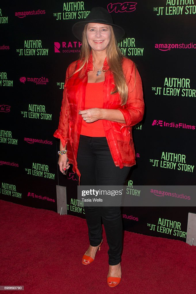 Allison McGourty attends the premiere of Amazon Studios' 'Author The JT Leroy Story' at NeueHouse Hollywood on August 25 2016 in Los Angeles...