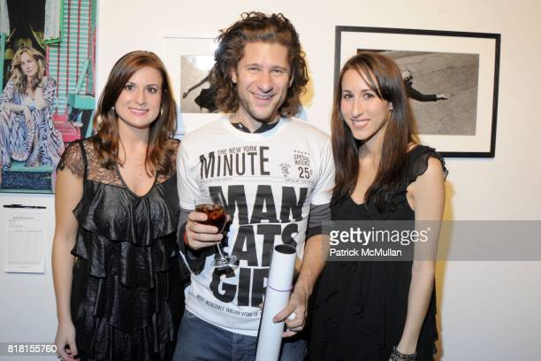 Allison Mital David Foox and Anna Casillas attend SIXTEENTH ANNUAL ARTWALK NY Benefitting The Coalition For the Homeless at Skylight Studios 275...