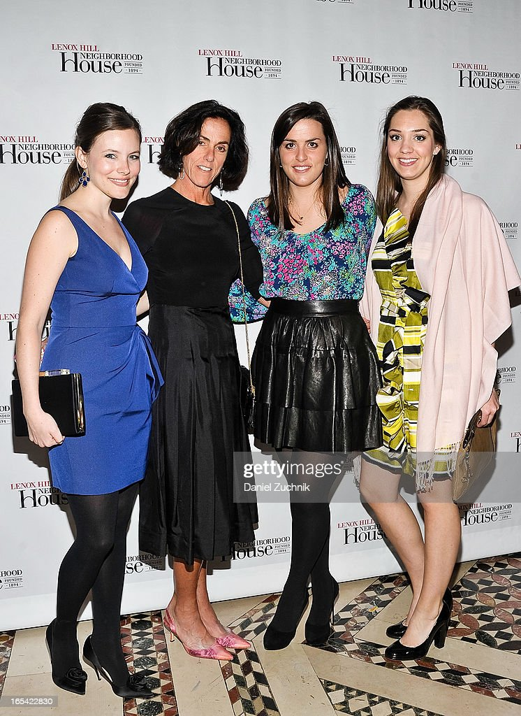 Allison, Paula, Molly and Ann Hennessy attends the Lenox Hill Neighborhood House Spring Gala Benefit at Cipriani 42nd Street on April 3, 2013 in New York City.