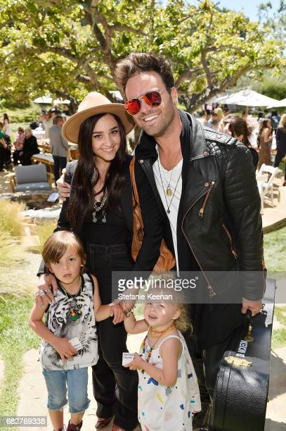 Allison Porter and family attend Cindy Crawford and Kaia Gerber host Best Buddies Mother's Day Brunch in Malibu CA sponsored by David Yurman on May...